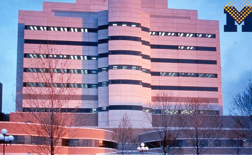 image of the Cancer Center building