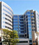 image of the new Children's and Women's Hospital