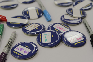 Badges are gifts to attendees