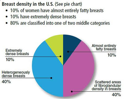 Breast cancer risk density